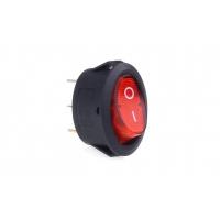[Ovalný vypínač 12/230V (s červeným podsvetlením) BU01]