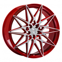 [AXXION AX9 - CHERRY RED FULL MACHINED]