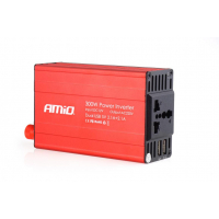 [Výkonový invertor AMiO 12V / 230V 300W / 600W 2xUSB PI03]