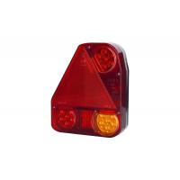 [Zadné svetlo kombinované s trojuholníkovým reflektorom HOR 56, LEVÉ (rohové, svetlo verzie LED III - pozičné, brzdové, smerové, cúvacie)]