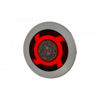 [Multifunkčné zadné svetlo HOR 75 - LUCY, LED 12/24V (s krúžkom, cúvacie svetlo, hmlové svetlo, obrysové svetlo, kábel 4x0,5 mm2, dĺžka 1,5 m)]