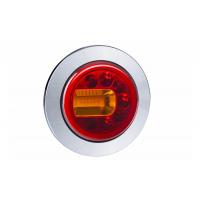 [Multifunkčné zadné svetlo HOR 96A - LUNA, LED 12/24V, ĽAVÉ (zapustené, pozičné svetlo, brzdové svetlo a smerové svetlo, guľatý kábel 4x0,5 mm2, dĺžka 1,5 m)]