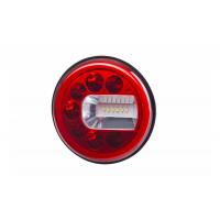 [Multifunkčné zadné svetlo HOR 96B - LUNA, LED 12/24V, PRAVÉ (verzia pre montáž na stenu, bočné obrysové svetlo, hmlové a cúvacie svetlo, guľatý kábel 4x0,5 mm2, dĺžka 1,5 m)]