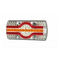 [Multifunkčné zadné svetlo HOR 89, EMA - 6-funkčné, LED 12/24 V, (svetlo bočnej ŠPZ, okrúhly kábel 7x0,5 mm2, dĺžka 2 m)]