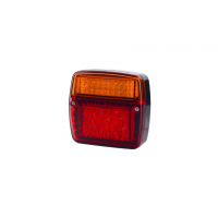 [Multifunkčné zadné svetlo HOR 58, krátke, LED 12/24V]