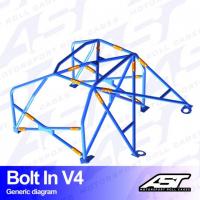 [Roll Cage VW Scirocco (Mk3) 3-doors Hatchback BOLT IN V4]