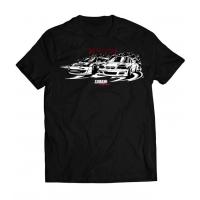 [Koszulka T-Shirt TurboWorks DriftTeam Czarna M]