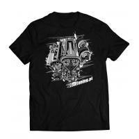 [Koszulka T-Shirt MTuning Czarna L Engine RB25]