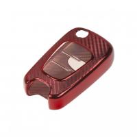 [TPU obal pre kľúč Hyundai / Kia, carbon červený]