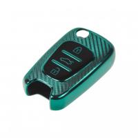[TPU obal pre kľúč Hyundai / Kia, carbon zelený]