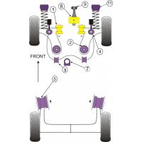 [Silentbloky Powerflex PFR85-426 VAG Rear Diff Rear Mounting Bush - VÝPREDAJ]