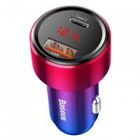 [Autonabíjačka BASEUS Magic USB + USB-C QC 4.0 PD 45W]