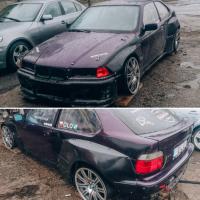 [Royal Body Kit BMW E36 COMPACT PANDEM WIDE BODY]