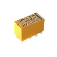 [Pomocné montážne relé - 2x prepínací kontakt 12 VDC/ 2 x 4 A]