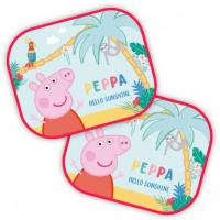 [Slnečníky 2 ks PEPPA PIG - 44*35 cm]