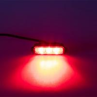 [MINI PREDATOR 3x1W LED, 12-24V, červený, ECE R10]