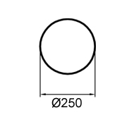 784 mm (obvod)
