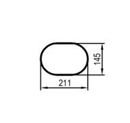 585 mm (obvod)