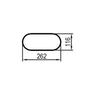 650 mm (obvod)
