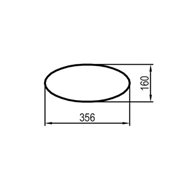 818 mm (obvod)
